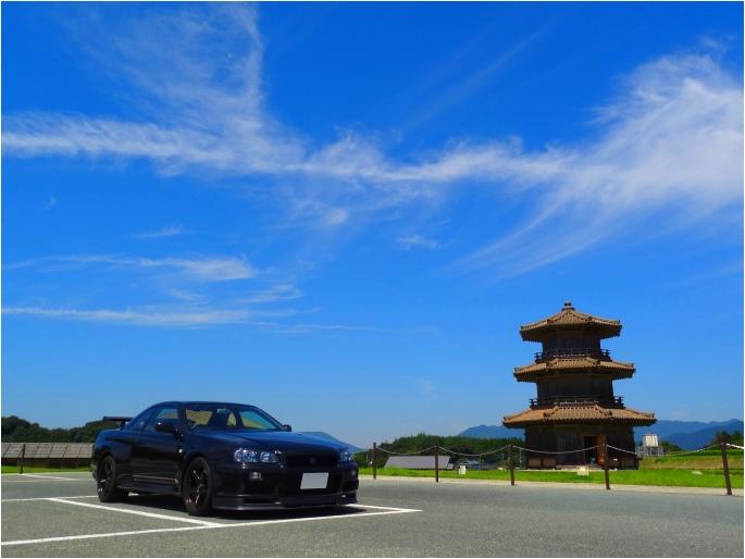 GT-R'14_kikuchi castle.jpg